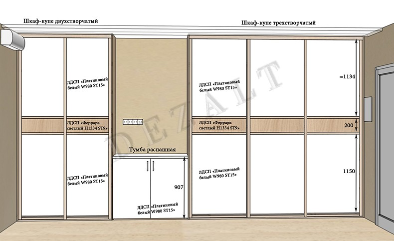 Инструкция как сделать шкаф купе