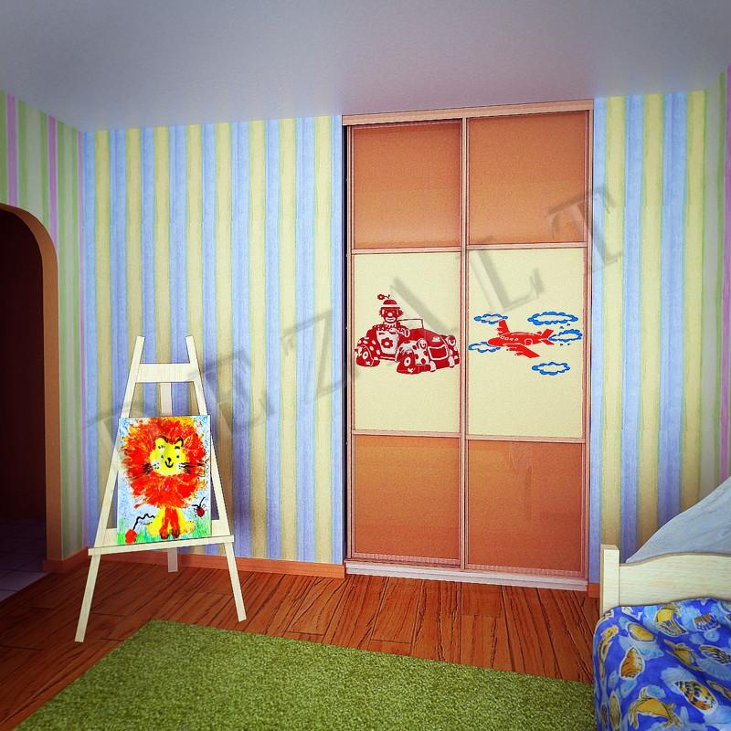Шкафы купе детские каталог